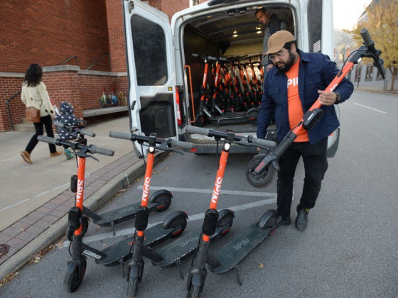Electric scooters ready to roll in Fayetteville